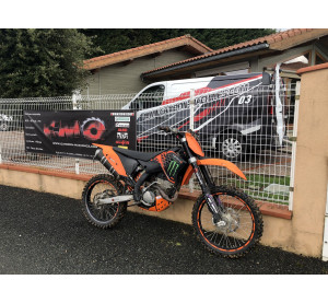 Cross KTM 250 4T SXF encore...