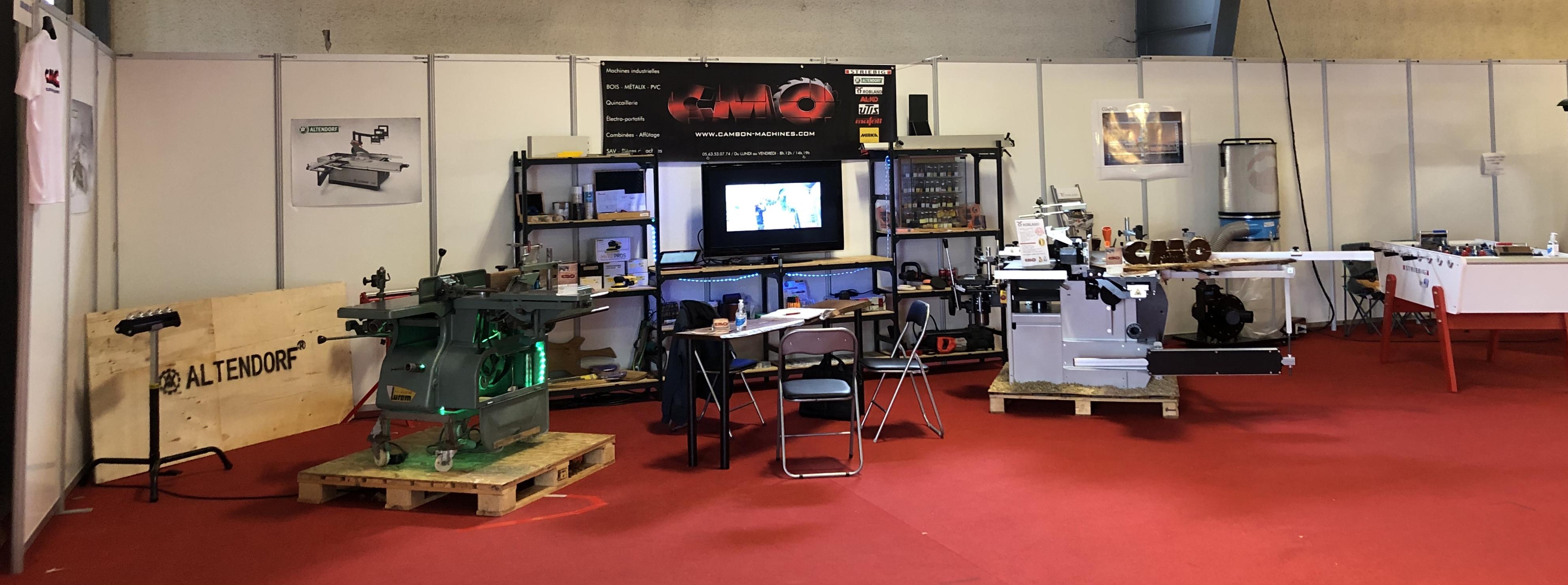 Salon Habitarn 2020 - Cambon Machines Outils - CMO - Albi 81